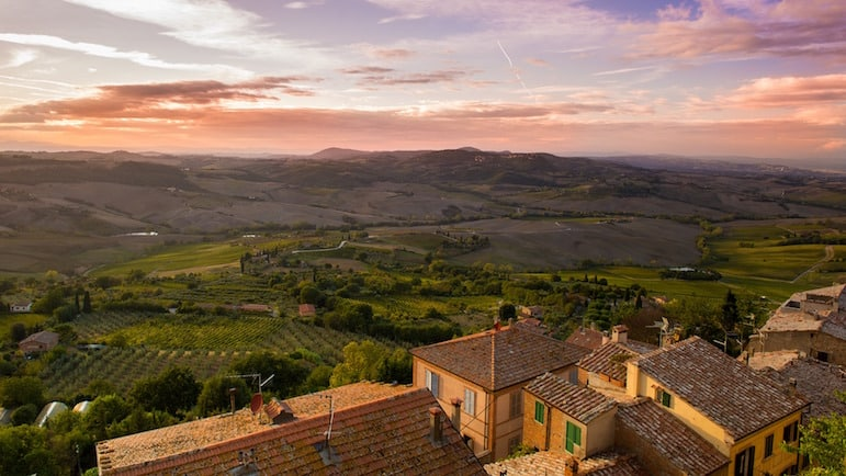 Discover a new you - become a cheese and wine expert with a vineyard stay in glorious Tuscany