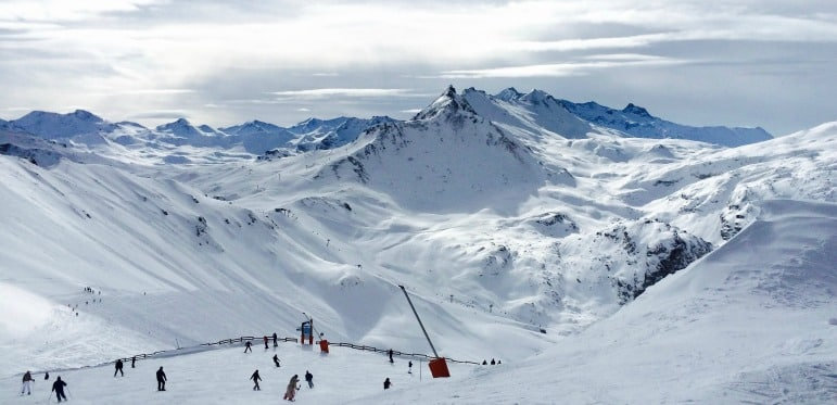 Best Ski resorts - views over the slopes
