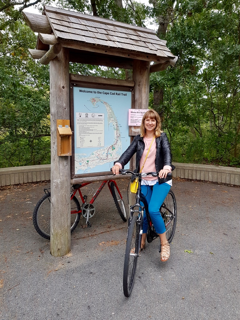 Taking the Cape Cod Rail Trail