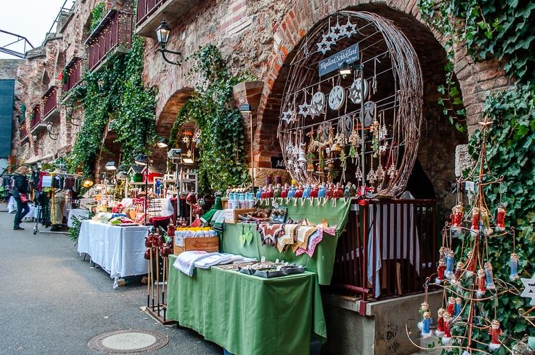 Schlossberg Christmas market in Graz