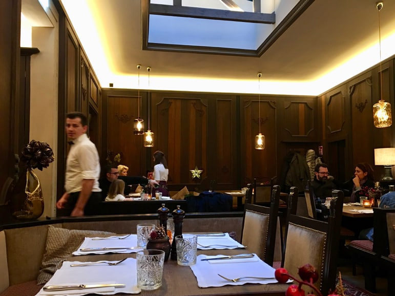 Lunch at the Landhauskeller restaurant in Graz