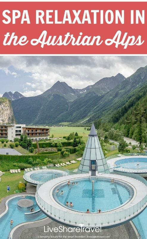 Spa relaxation at the Aqua Dome hotel in Austria's Tirol region