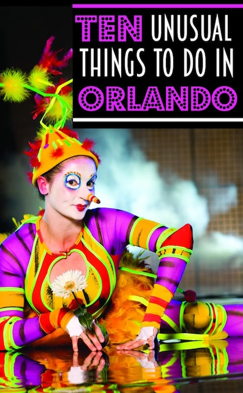 Ten things to do in Orlando