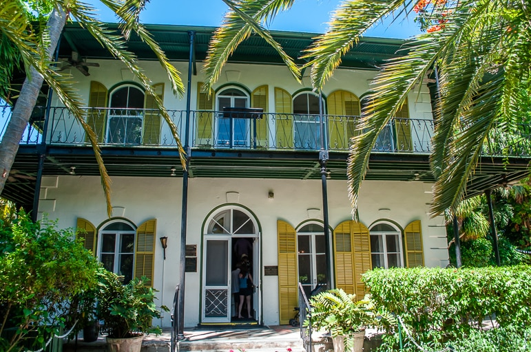 Unusual things to do in the Florida Keys - visit Hemingway House