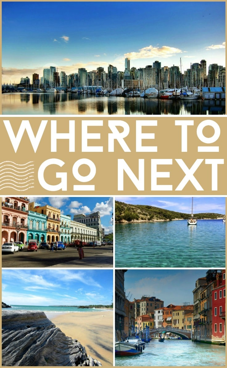 Where to go next for your holiday adventures