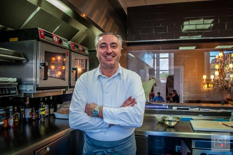 Les Avises restaurant chef Stéphane Rossillon
