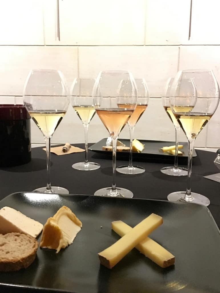 Champagne and cheese paring at J.De Telmont
