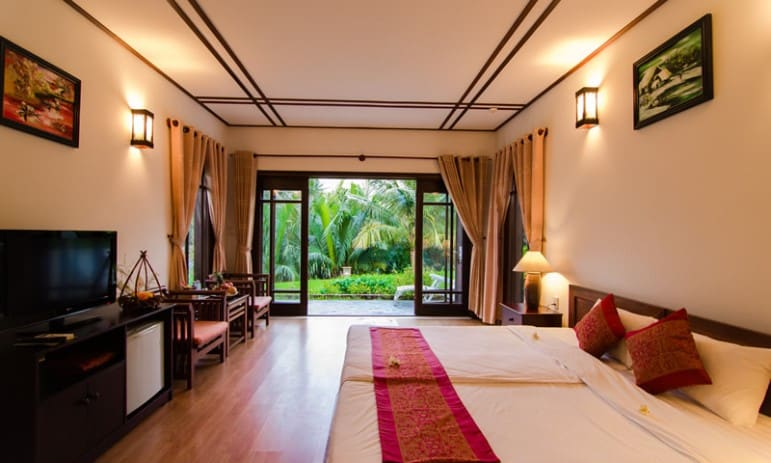 One of the Superior View rooms at new RCI-affiliated resort Karma Cây Tre