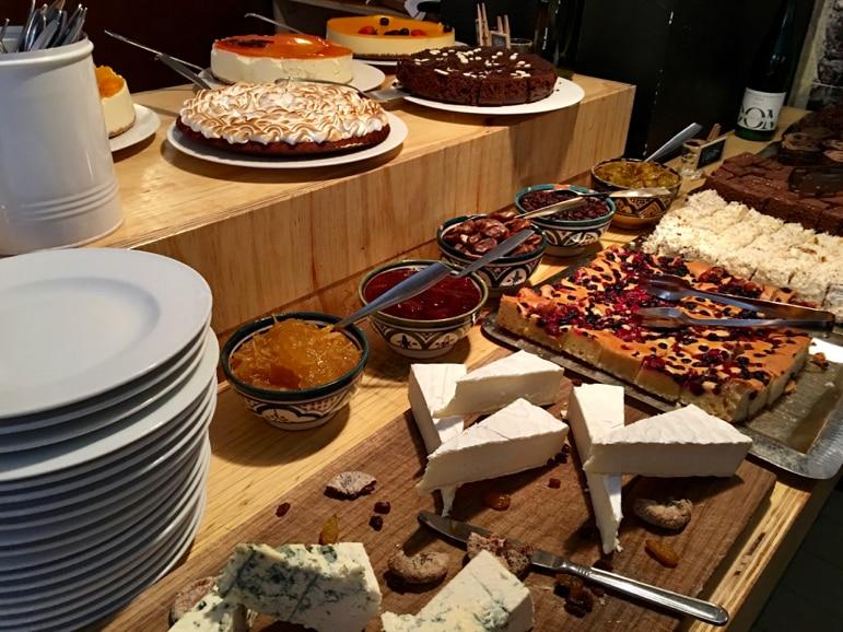 A veggie feast at Sandro Eira, Helsinki