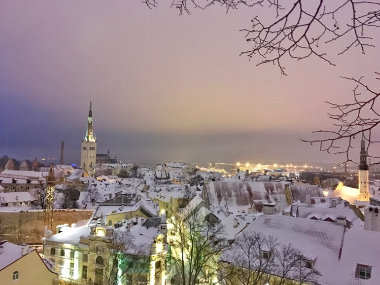 From modern Helsinki to Tallinn's old town