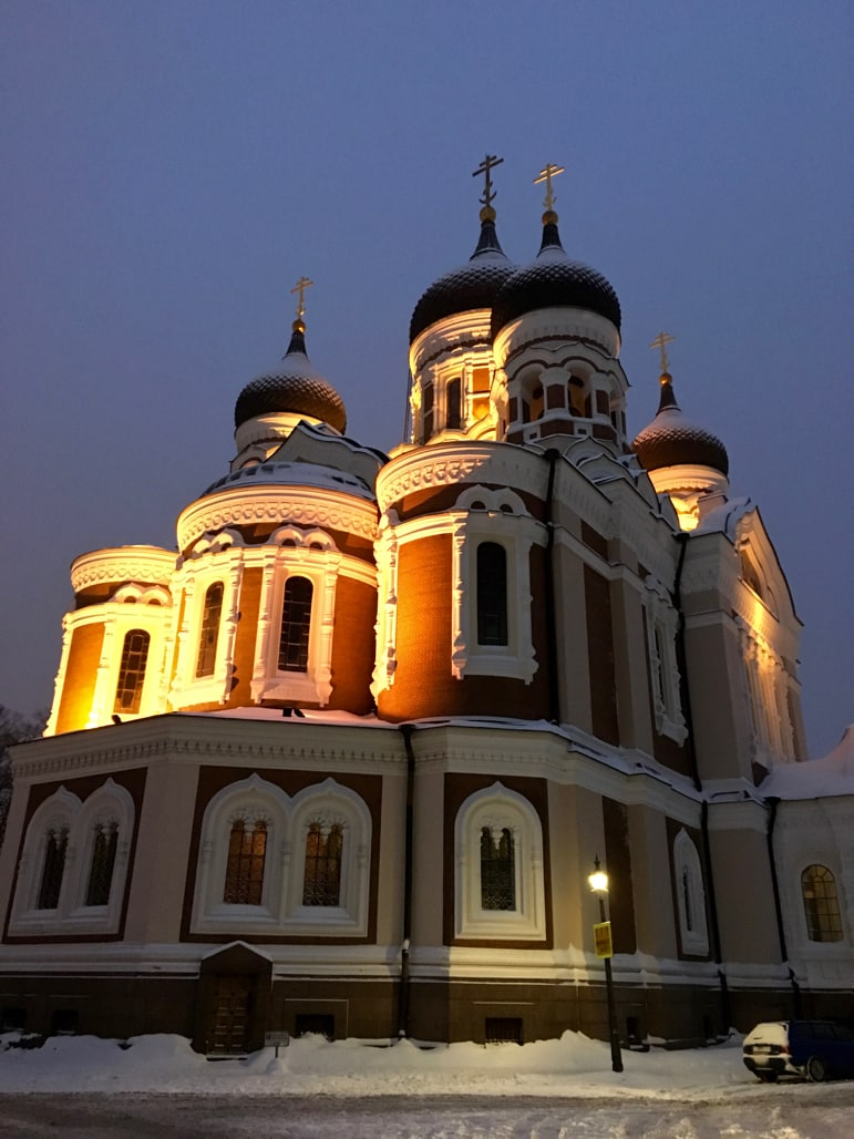 Helsinki to Tallinn - Alexander Nevsky orthodox cathedral in Tallinn