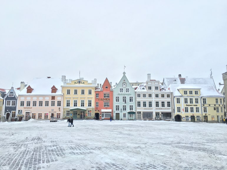 Helsinki to Tallinn - Tallinn's old town is a UNESCO World Heritage site