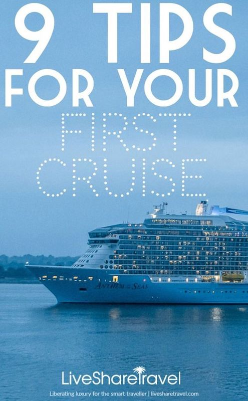 How to cruise - 9 first time cruise tips and tricks