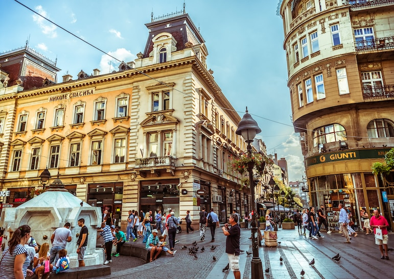 Knez Mihailova - the heart of Belgrade