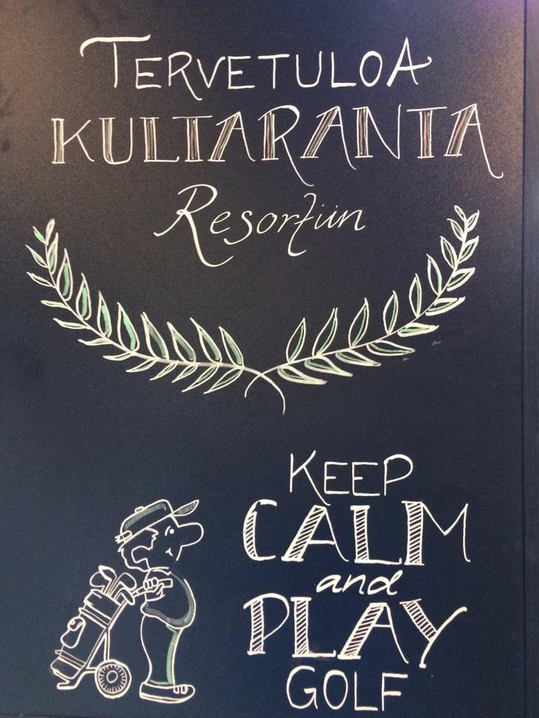 Kultaranta resort offers sound advice