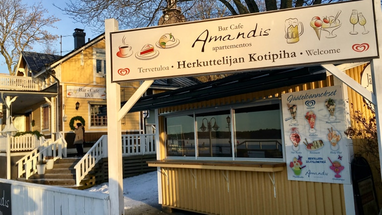 Café Amandis in Naantail