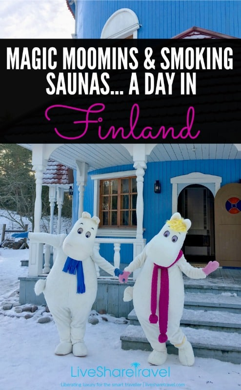Moomin magic, smoking saunas, and wonderful waffles in a day's travel in Naantali, Finland