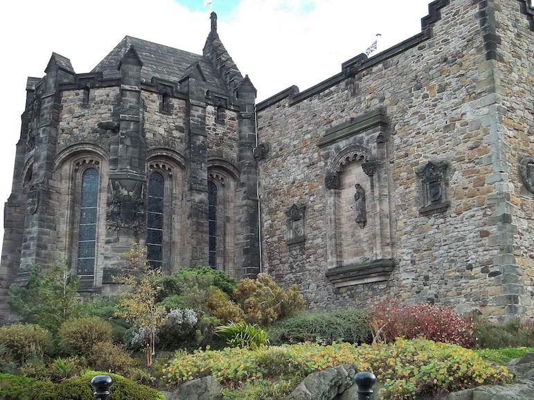 St Margaret's Chapel at Edinburgh Castle dates back to the 12th century | pic: ozz13x