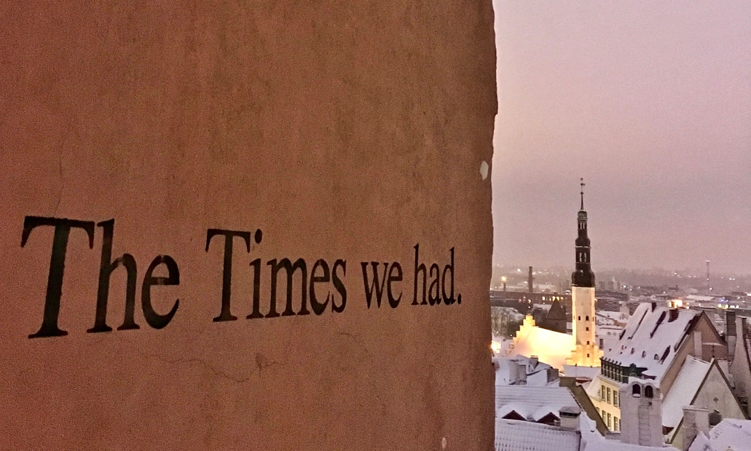 The Times We Had - from Helsinki to Tallinn