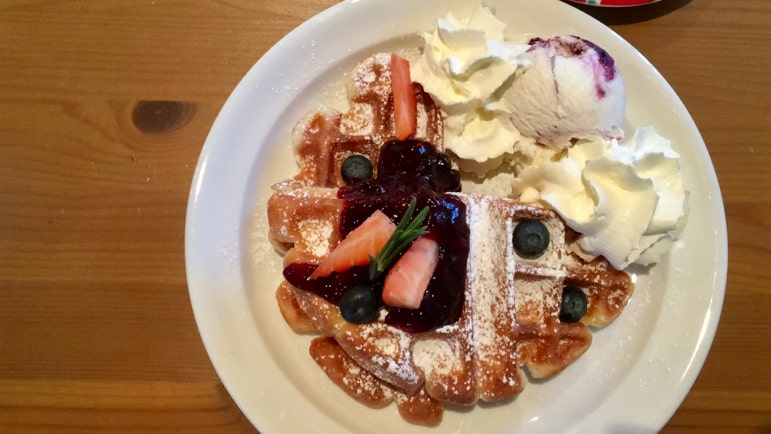 The world's best waffle is in Naantali