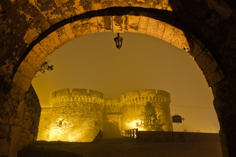 The old citadel of Belgrade