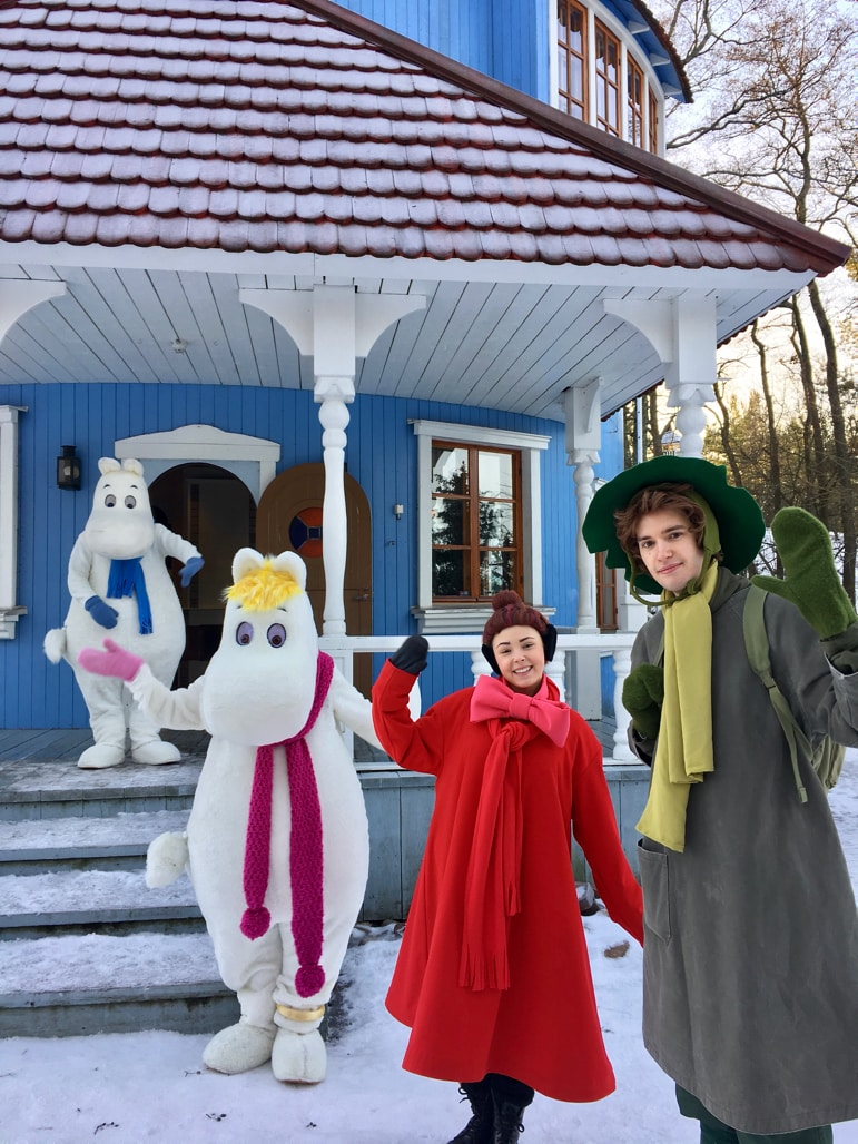 Welcome to the Moomins' home