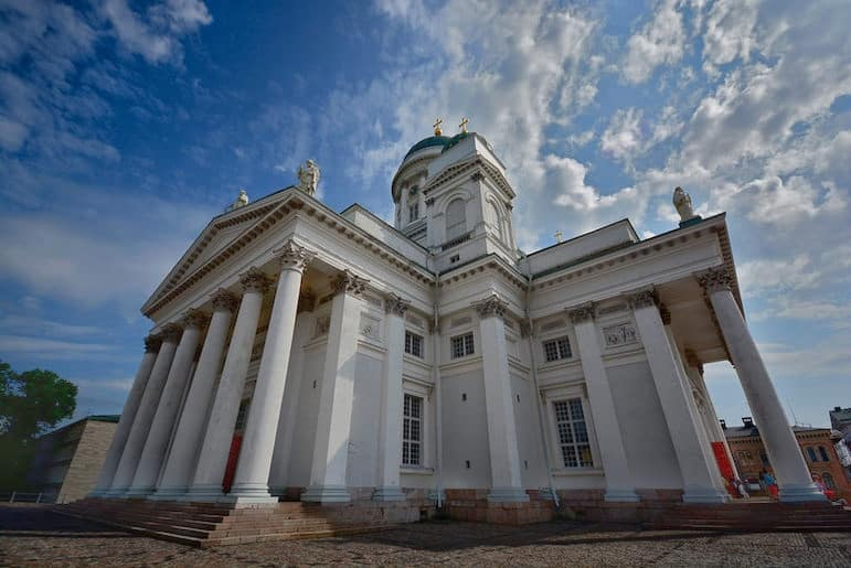 What to do in Helsinki - visit the city's cathedral