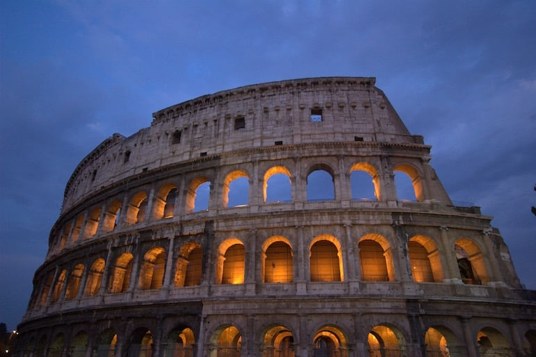 The Colosseum is one of our favourite sights in Rome | pic: Pexels