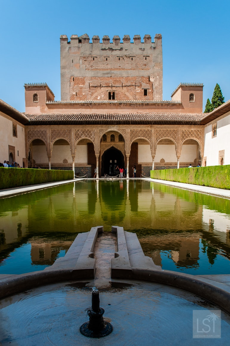 The Alhambra in Granada is one of Spain's finest examples of Moorish architecture