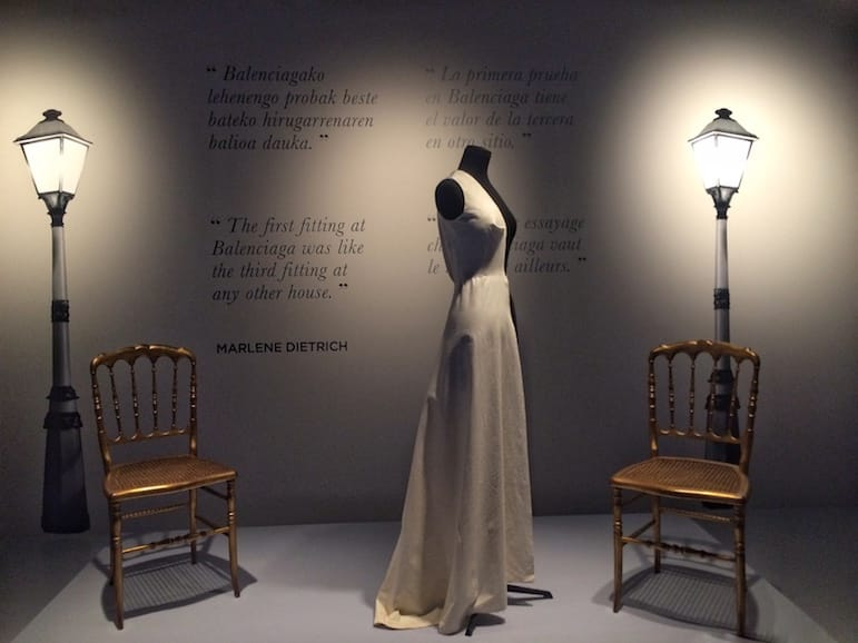The Balenciaga Museum in Getaria, near San Sebastian, is well worth a visit to learn of the designer's mastery