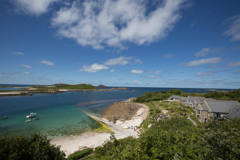 Scilly Isles landscape, Karma St.Martin's