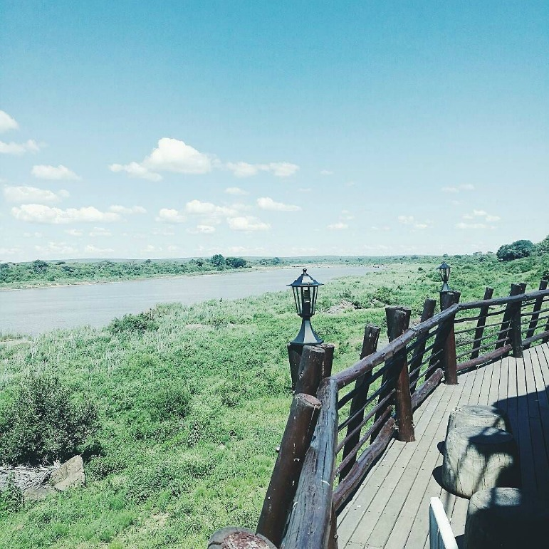 Crocodile River Camp in Kruger National Park, South Africa, home to Africa's big five
