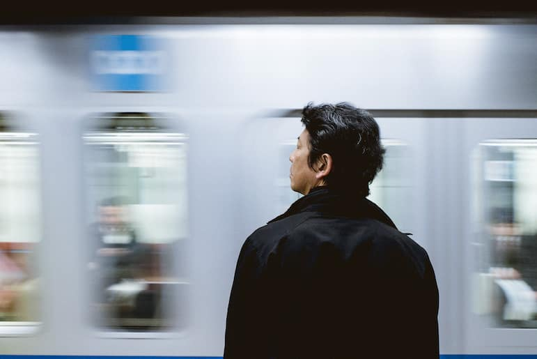 Tokyo travel tips - the train is the easiest way to get around Tokyo | Pic: Amos Bar Zeev
