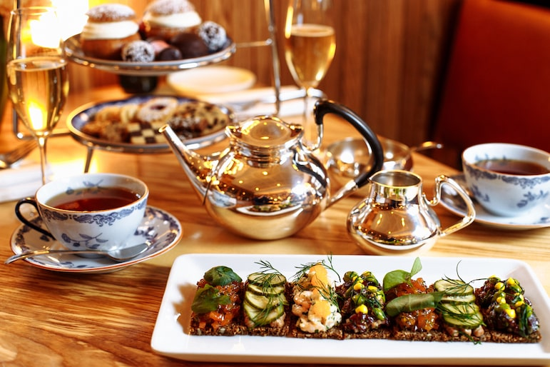 For the best afternoon tea in London visit Nordic restaurant Aquavit | Pic: Aquavit