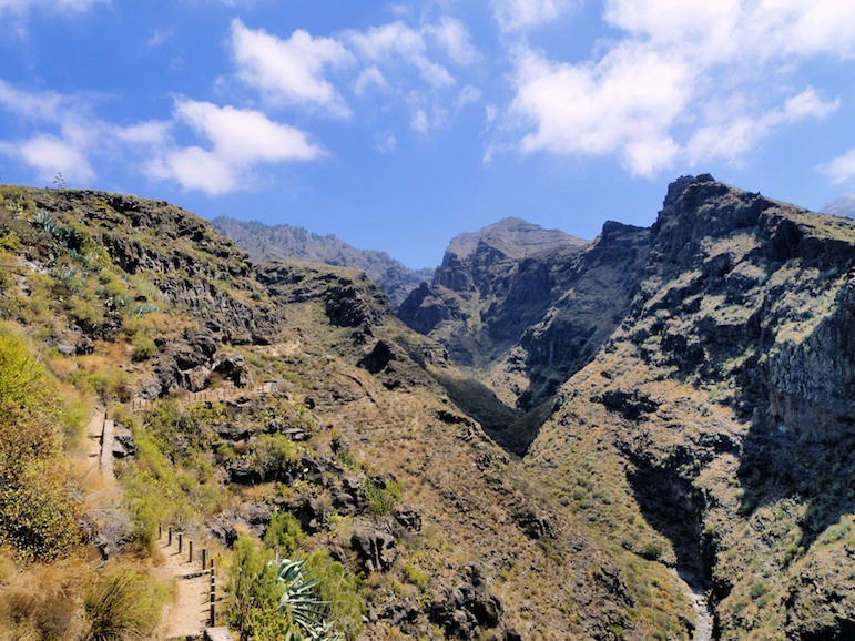 What to do in Tenerife - hike Barranco del Infierno or 'Hell's Ravine'