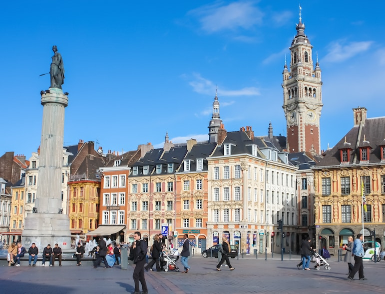 Best French cities - Lille