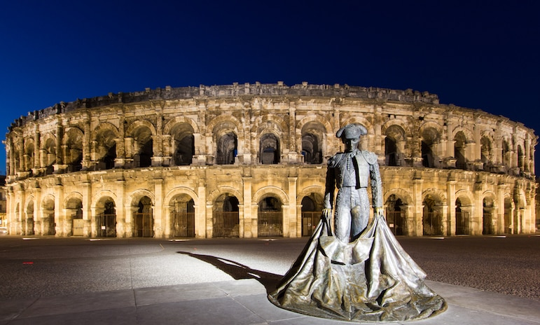 Best French cities - the Arena of Nimes