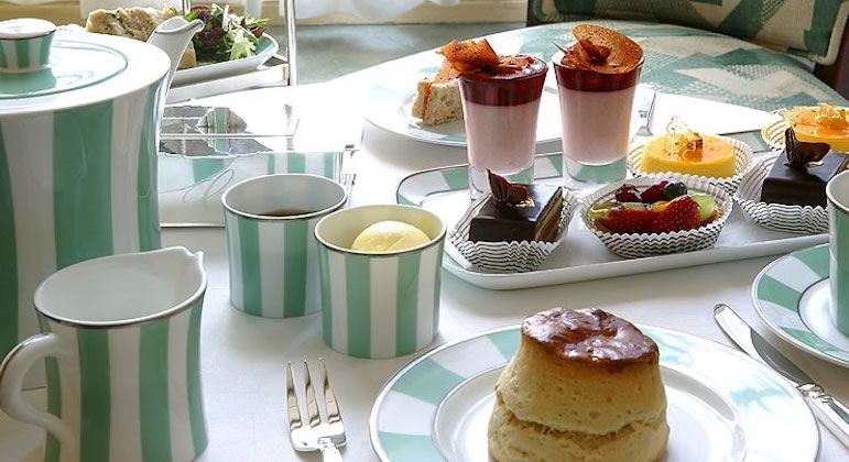 Visit Claridges for the best afternoon tea in London | Pic finedining Indian