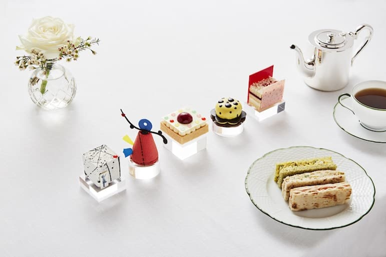 For the best afternoon tea in London, visit the Rosewood Hotel where art is served up on a plate | Pic: Rosewood Hotel