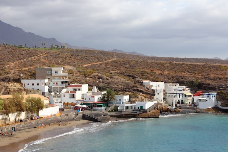 Places to visit in Tenerife - the bay at El Puertito