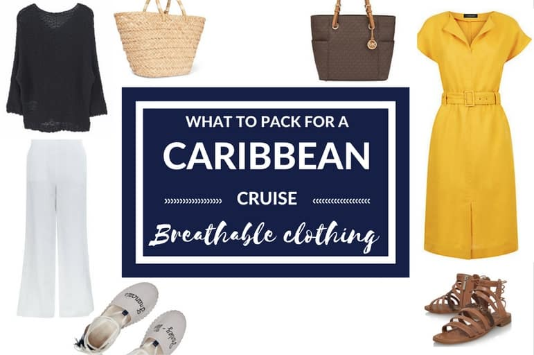 What to pack for a Caribbean Cruise: Breathable Clothing