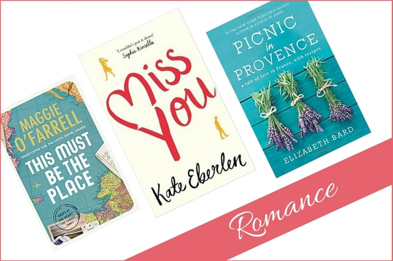 Romantic novels for your summer reading list