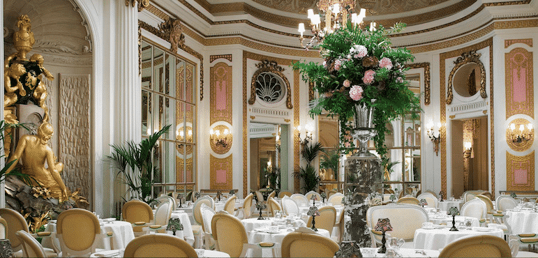 Best afternoon teas in London - the Palm Court at The Ritz