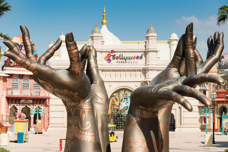 Where to go in Dubai, try Bollywood Parks Dubai