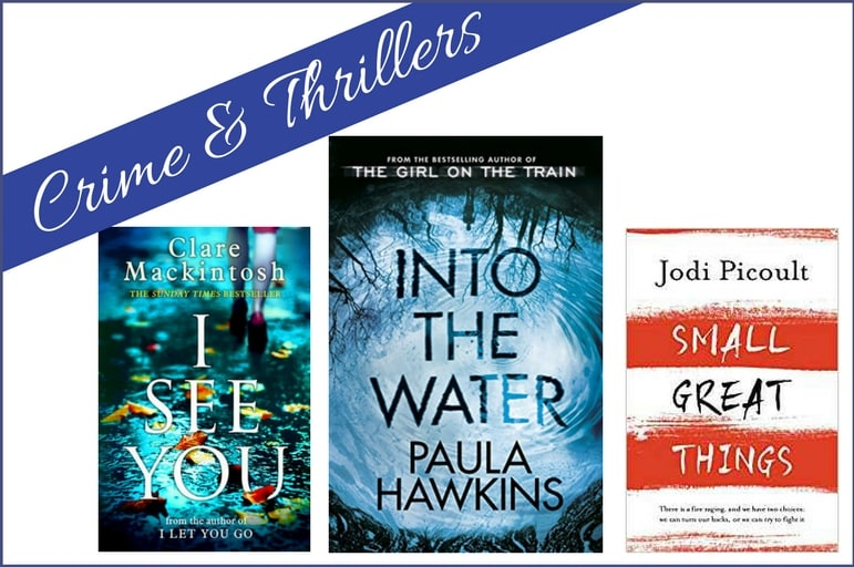 Best summer reading 2017 - edge of your seat crime and thrillers to entertain you on your holidays
