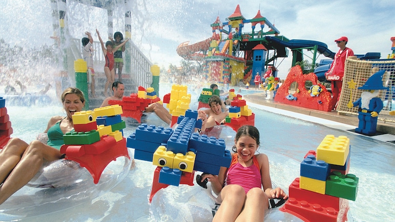 Where to go in Dubai, well LEGOLAND Waterpark offers a splashing day out for the whole family