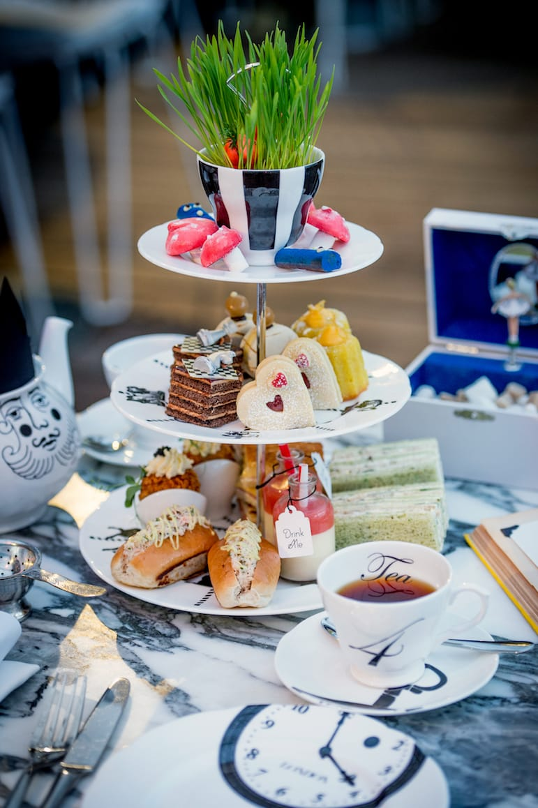 A mad hatters tea at the Sanderson Hotel is one of the best afternoon teas in London | Pic: The Sanderson