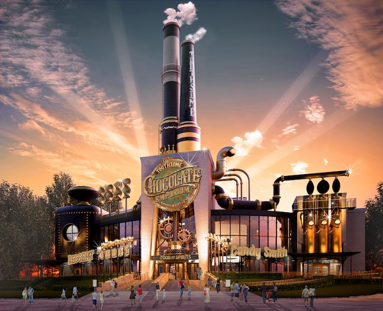 Shopping in Orlando's theme parks - Toothsome Chocolate Emporium at Universal CityWalk