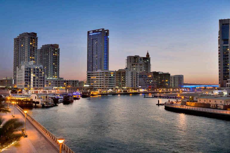 Wyndham Dubai Marina near to the largest manmade marina in the world