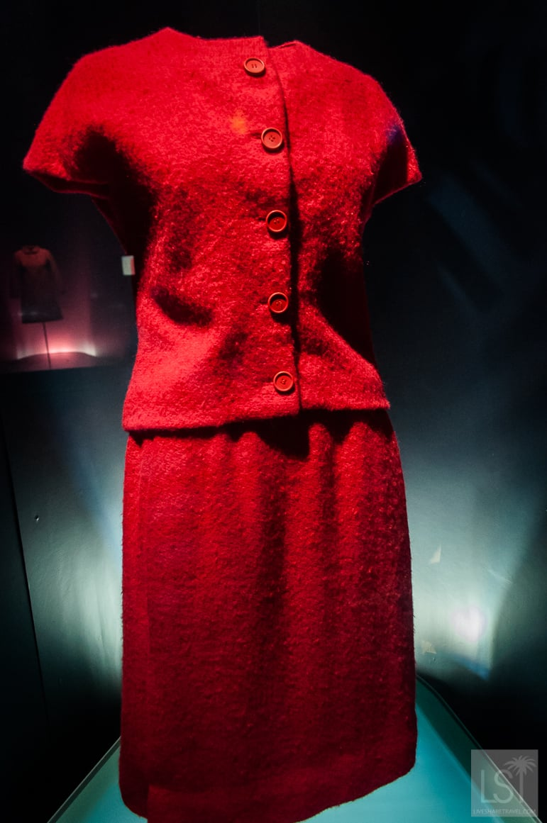 Balenciaga was hailed for his tailoring techniques - this suit is at the Balenciaga Musuem in Spain but you can also catch the Balenciaga exhibition in London